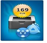 Счетоводен софтуер с лазерен принтер